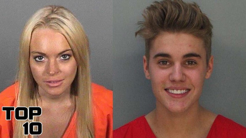 Top 10 Shocking Celebrity Mug Shots