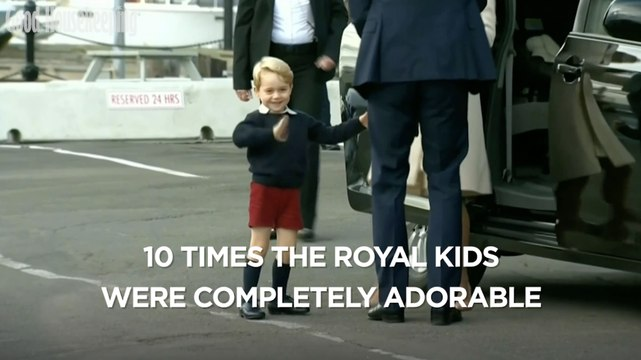 10 time the royal kids were completely adorable