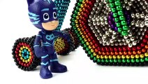 DIY - How To Make PJ Masks Super Bike From Magnetic Balls (ASMR) Oddly Satisfying Magnetic Balls