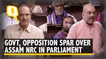 Centre and Opposition Battle It Out Over Assam NRC In Parliament