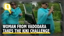 Watch: This Woman Performs the Kiki Challenge in Vadodara