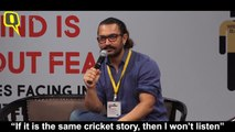 Aamir Khan at screenwriters conference