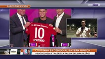 La salida de Coutinho para el Barça