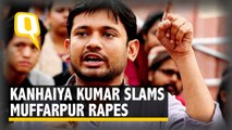 Kanhaiya Kumar Condemns the Muzaffarpur Rapes