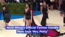 Nicki Minaj Becomes Mrs. Petty