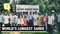 What Does It Take To Make The Longest Saree In The World?