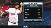 Chris Sale Set To Be Re-Evaluated In Six Weeks After Being Shut Down
