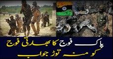 Pak Army slashed Indian territories