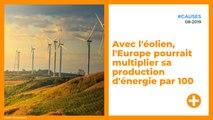 Avec l'éolien, l'Europe pourrait multiplier sa production d'énergie par 100