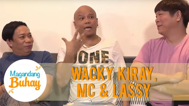 How Wacky Kiray, MC & Lassy's friendship started | Magandang Buhay