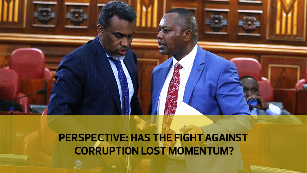 Perspective: Has the fight against corruption lost momentum?