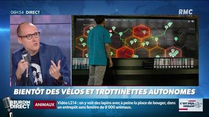 La chronique d'Anthony Morel : Bientôt des vélos et trottinettes autonomes - 20/08