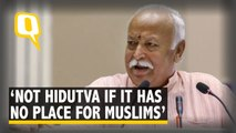 'Not Hindutva If It Has No Place for Muslims', Says Mohan Bhagwat