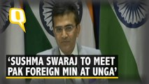Sushma Swaraj to Meet Pak Foreign Minister in New York: MEA