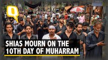 Shias Mourn on  'Ashura' or the 10th Day of Muharram