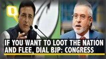 Congress Attacks BJP over Vijay Mallya fleeing to London