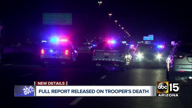Full report released on trooper's death