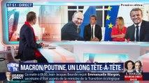 L'édito de Christophe Barbier: Macron/Poutine, un long tête-à-tête