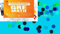 [READ] McGraw-Hill Education Conquering GRE Math, Third Edition