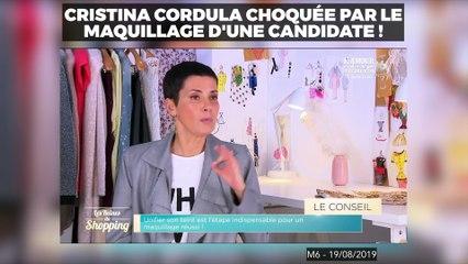 Une candidate se fait reprendre sévèrement par Cristina Cordula dans Les Reines du Shopping