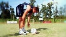 """Agustín Vuletich y su manera de ejecutar tiros libres: """"Me gusta pegarle seco a la pelota"""""""