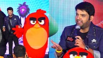 Kapil Sharma talks on his character Red in Hindi version of Angry Birds 2;Watch video | FilmiBeat