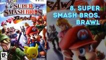 Los 10 videojuegos más vendidos de la Wii