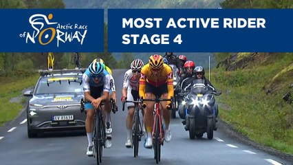 Most Active Rider - Stage 4 - Arctic Race of Norway 2019