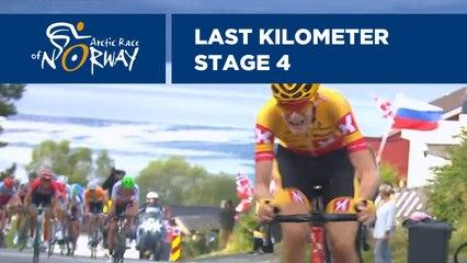Last Kilometer - Stage 4 - Arctic Race of Norway 2019