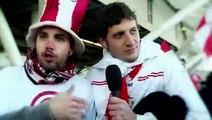 La emoción de los fans de Estudiantes de La Plata en la despedida de la Brujita Verón