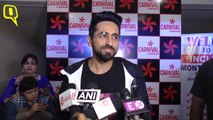 Ayushmann Khurrana watches 'AndhaDhun' with his fans at the theater