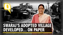 Foreign Minister Sushma Swaraj's Adopted Village Is Developed... On Paper