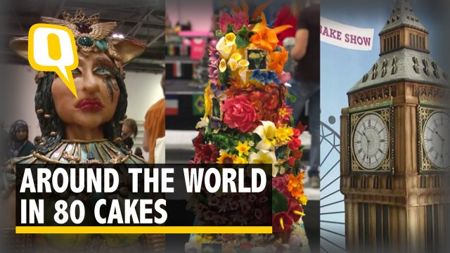 Magnificent Cake Art at London's 'Cakes And Bakes Show'