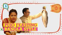 What is Durga Puja without a Bengali non-vegetarian feast?