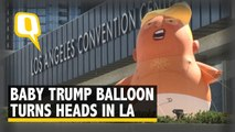 'Angry Baby Trump' Balloon Turns Heads in Los Angeles
