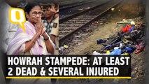 Stampede at Santragachi Junction in Howrah claims 2 lives, injures 12
