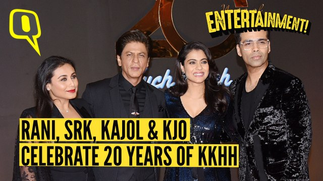 Kareena, Salman, SRK Celebrate 20 Years of 'Kuch Kuch Hota Hai'