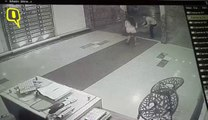 Caught on CCTV: Mumbai Model Thrashes Guard, Strips Before Police