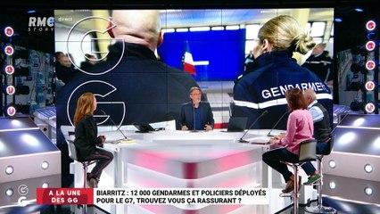 A la Une des GG : Plus de 12 000 gendarmes et policiers déployés pour le G7, est-ce rassurant ? - 20/08