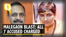 Malegaon Blast: Purohit, Pragya Charged with Terror Conspiracy