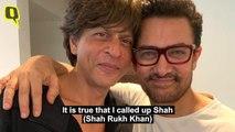 Aamir Khan Talks About Recommending SRK for Rakesh Sharma Biopic