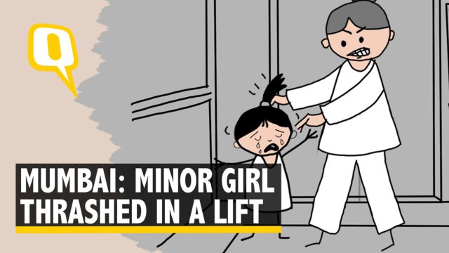 Caught on Camera: 4 Year Old Girl Robbed & Beaten In Elevator