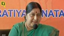 Wont Participate in SAARC: Sushma Swaraj
