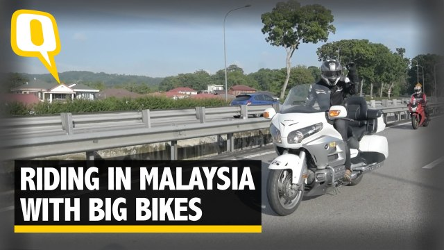 Riding Across Malaysia With A Group of Superbikes | The Quint