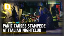 Stampede Before Concert in Italian Disco Leaves 6 Dead, 50 Hurt
