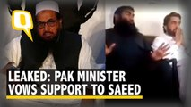Leaked Video Shows Pak Minister Vowing to 'Protect' Hafiz Saeed