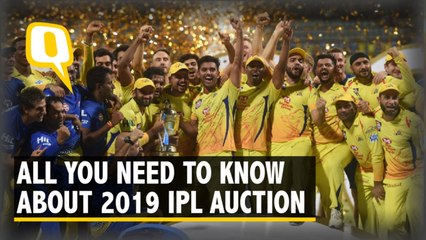 IPL Auction 2019: How Much Money Can Each Team Spend?