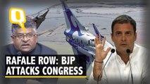 Ravi Shankar Prasad Attacks Congress Over Rafale, Agusta