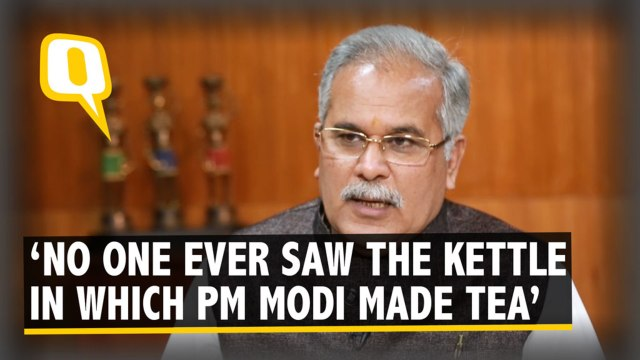 Nobody Has Ever Tasted Tea Made By PM Modi: Chattisgarh CM Baghel