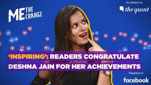 'Inspiring': Readers Congratulate Deshna Jain for Her Achievements